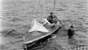 Яхтсмен Ханнес Линдемана использовал аутотренинг во время своего заплыва